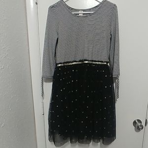 Girls size 18 long sleeve dress